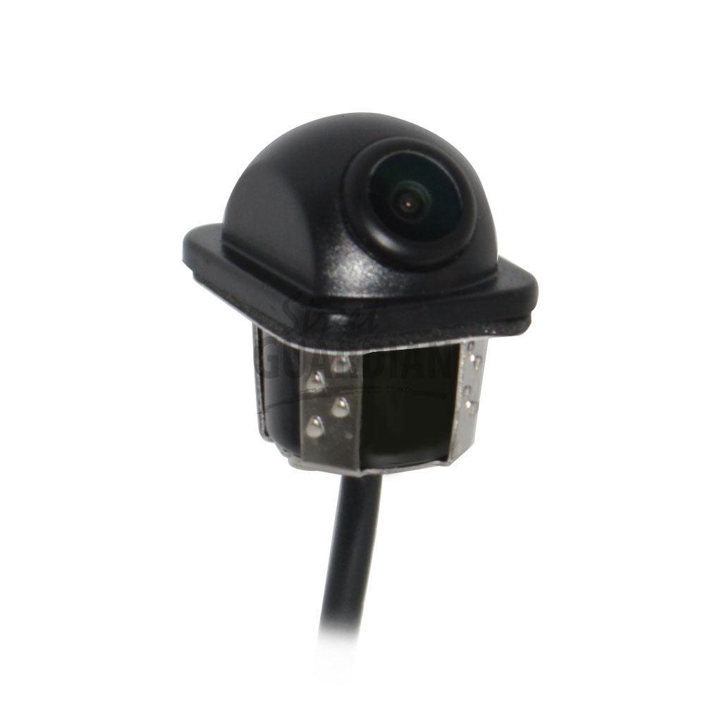 Universal flush mount fixed angle reverse camera street for Flush mount reverse camera